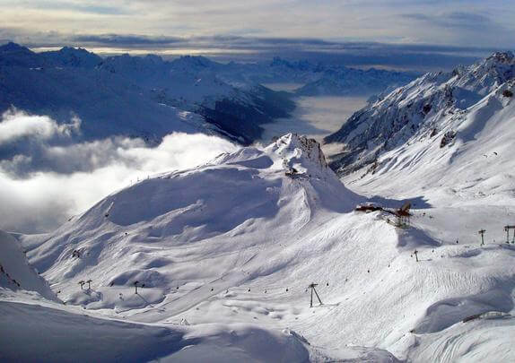 St Anton - snowboard bestemmingen