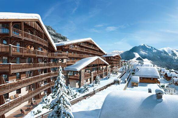 droomwintersport les fermes de chatel voor 309 p p skicheckers. Black Bedroom Furniture Sets. Home Design Ideas